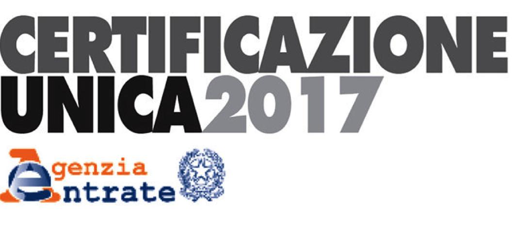 Certificazione Unica 2017 per Colf e Badanti
